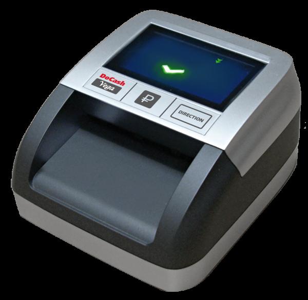 Купить автоматический портативный детектор DoCash VEGA по низкой и выгодной цене. Доставка по Москве и Московской области. Сервис Банковского Оборудования
