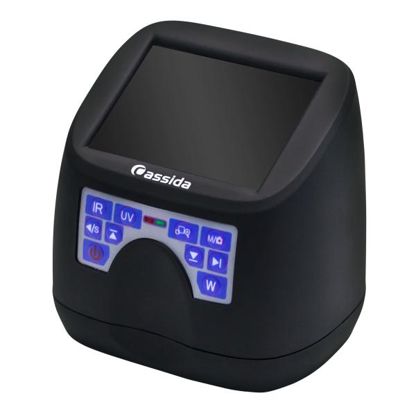 Купить портативный детектор банкнот Cassida MFD1 по низкой цене. Практичный и удобный в использовании портативный детектор с высокой точностью детекции.