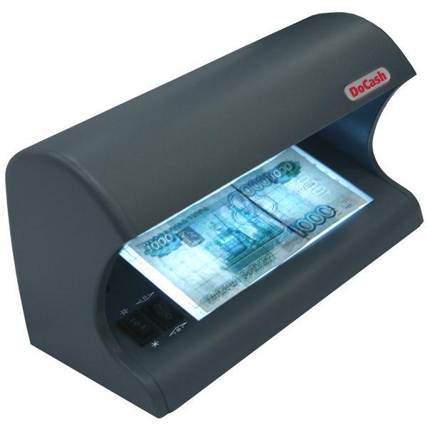 Просмотровый детектор банкнот DoCash 525 по низкой и выгодной цене. Доставка по Москве и Московской области. Сервис Банковского Оборудования Информтех