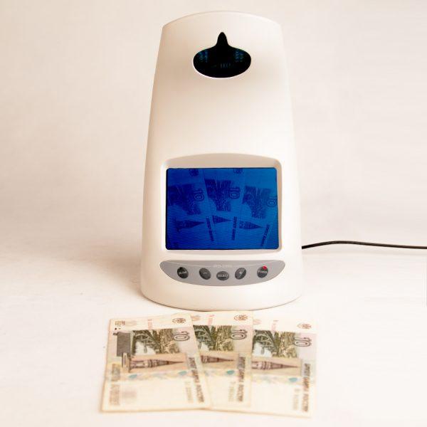 Купить просмотровый ИК детектор Kobell IRD-2200 для проверки подлинности банкнот по низкой и выгодной цене. Поддержка валют RUB USD EUR. Отзывы покупателей