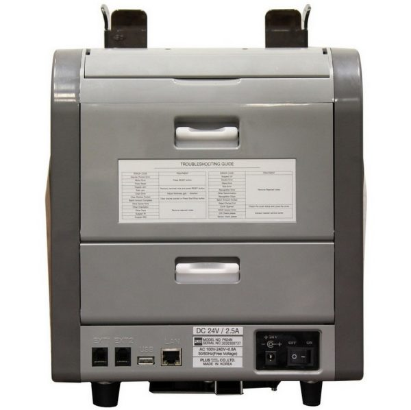 Купить двухкарманный сортировщик банкнот PLUS 624N по низкой цене с доставкой по Москве и Московской области. Характеристики устройства и отзывы покупателей