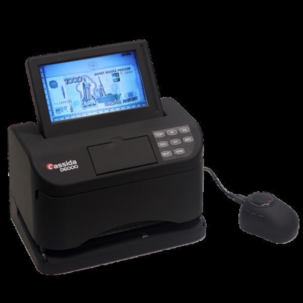 Купить просмотровый детектор банкнот Cassida D6000 и Cassida D6000 E по низкой и выгодной цене с доставкой по Москве и Московской области.
