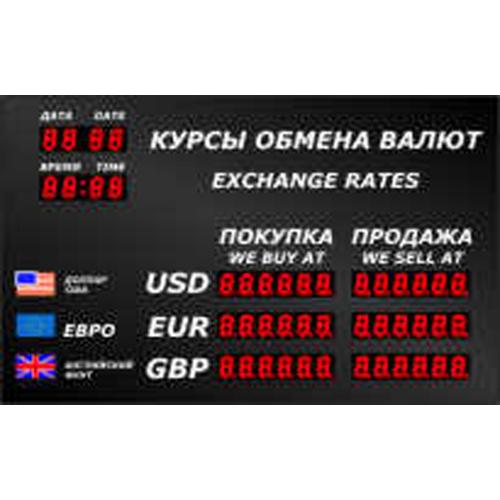 Купить офисное табло котировок валют Cassida R-3 по низкой цене. Доставка по Москве и Московской области. Технические характеристики и отзывы покупателей.