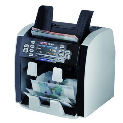 Купить Двухкарманный сортировщик банкнот DoCash DC-45F по низкой цене с доставкой по Москве и области. Технические характеристики и отзывы покупателей.