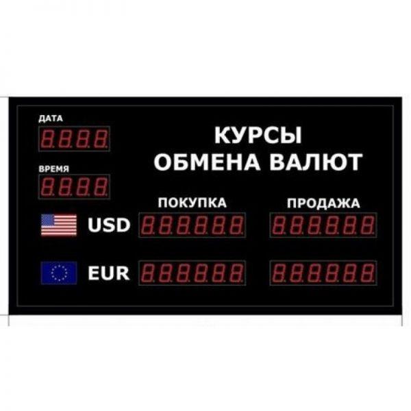Купить офисное табло котировки валют DoCash R1 602-02 DT-CR по низкой цене с доставкой по Москве и области. Технические характеристики и отзывы покупателей.