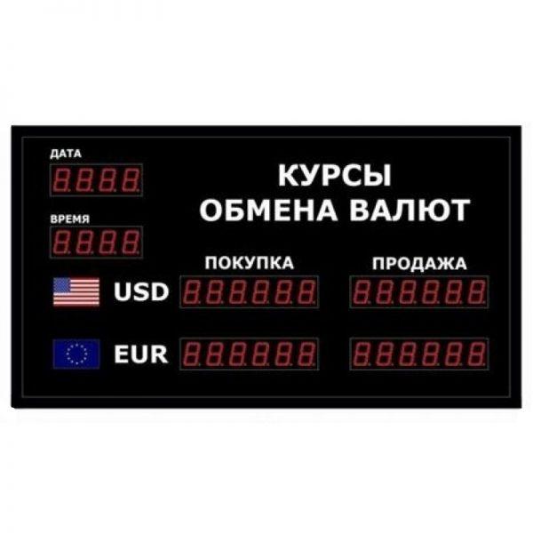 Купить офисное табло котировки валют DoCash R1 602-03 CR по низкой цене. Доставка по Москве области. Технические характеристики и отзывы покупателей.