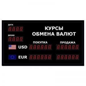 Купить офисное табло котировок валют DoCash R1 602-03 DT-CR по низкой цене с доставкой по Москве и области. Технические характеристики и отзывы покупателей.