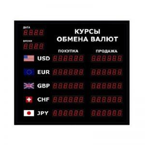 Купить табло котировки валют DoCash R1 602-06 DT-CR по низкой цене с доставкой по Москве и области. Технические характеристики и отзывы покупателей.
