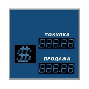 Купить уличное одностороннее табло котировок валют DoCash ST-1 409-03 CR по низкой цене с доставкой по Москве и области. Технические характеристики и отзывы