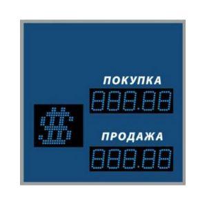 Купить уличное двустороннее табло котировок валют DoCash ST-2 409-02 CR по низкой цене с доставкой по Москве и области. Технические характеристики устр-ва.