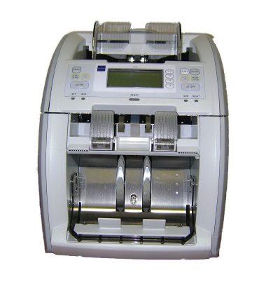 Купить сортировщик банкнот со сквозным счетом и с определением номинала Glory GFS-120 по низкой цене с доставкой по Москве и области. Отзывы покупателей.