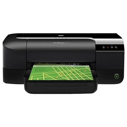 Купить струйный цветной принтер HP Officejet 6100 ePrinter по низкой цене. Доставка по Москве и области. Технические характеристики и отзывы покупателей.