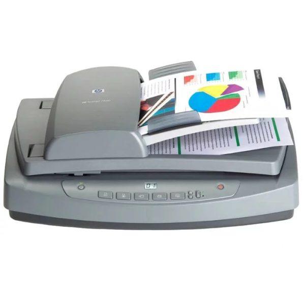 Купить сканер для офиса HP Scanjet 7650 по низкой и выгодной цене. Доставка по Москве и Московской области. Технические характеристики и отзывы покупателей.