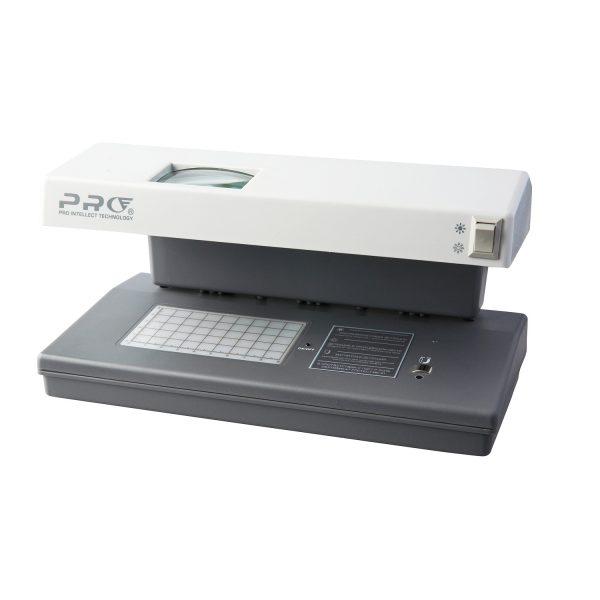 Купить просмотровый детектор банкнот УФ диапазона PRO 12 LPM Gray по низкой цене. Доставка по Москве и области. Технические характеристики и отзывы.