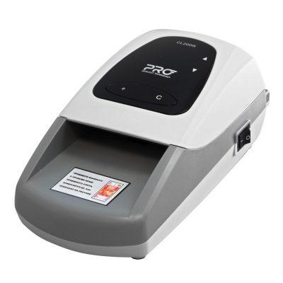 Купить автоматический портативный детектор банкнот PRO CL 200 по низкой цене. Доставка по Москве и области. Технические характеристики и отзывы покупателей.