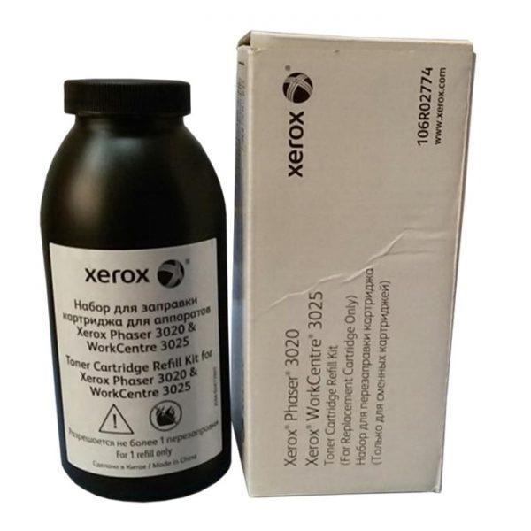 Оригинальный комплект для перезаправки картриджей для принтера Xerox Phaser 3020