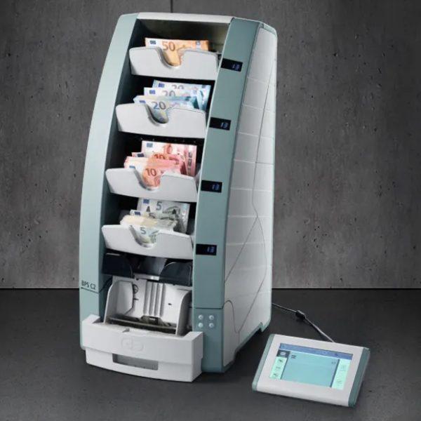 BPS C2-4 четырехкарманный сортировщик банкнот купить в Москве и Московской области самые низкие цены ремонт обслуживание банковского оборудования